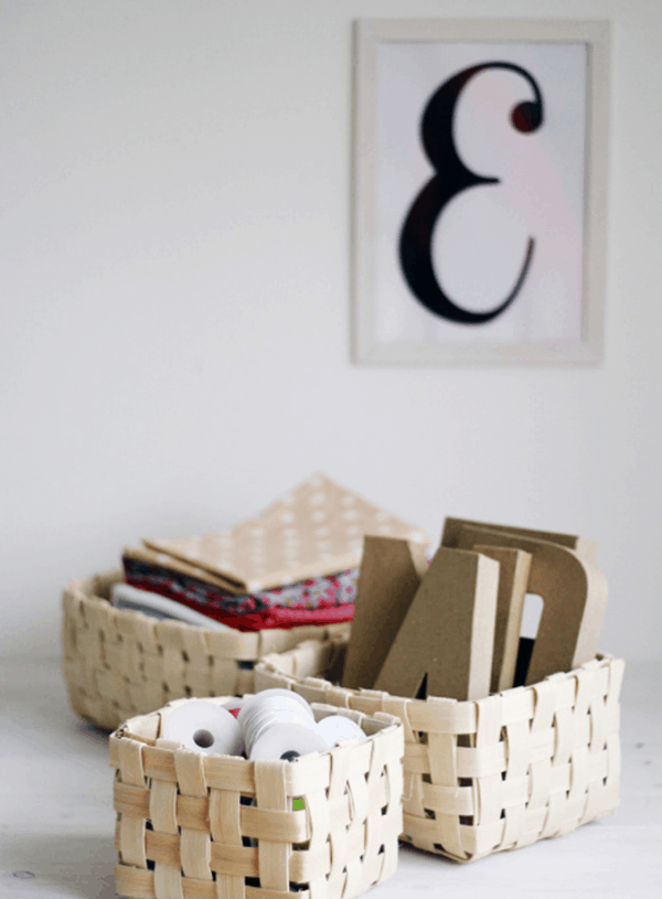 Pikidilly – DIY Project: Basket Weaving
