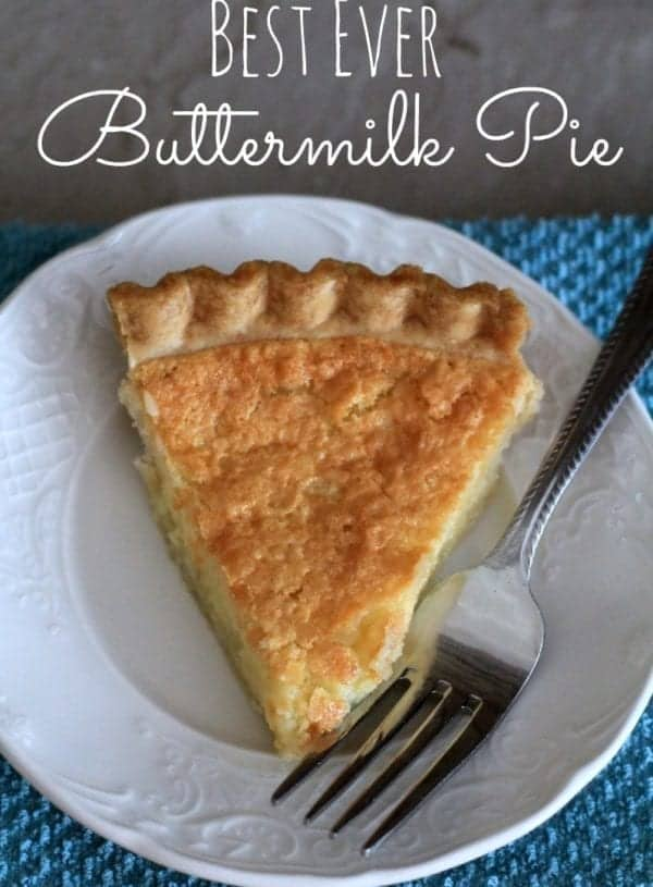 The Best Buttermilk Pie I've ever tasted!