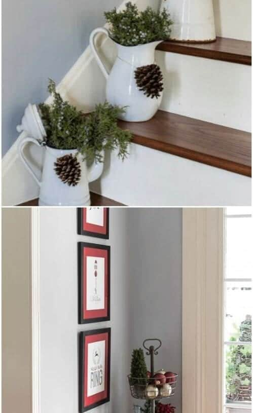 Pikidilly – Rustic Stairway Décor