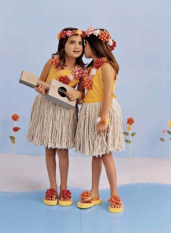 Hula Dancer Costume