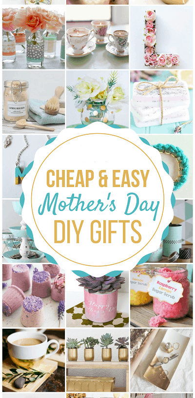 DIY's Mother's Day Gift Ideas