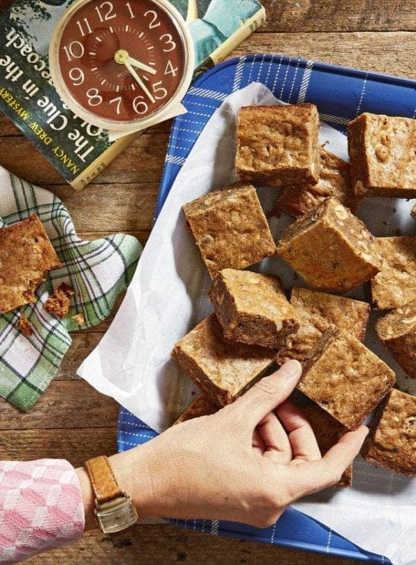 Brown Butter-Hazelnut Blondies