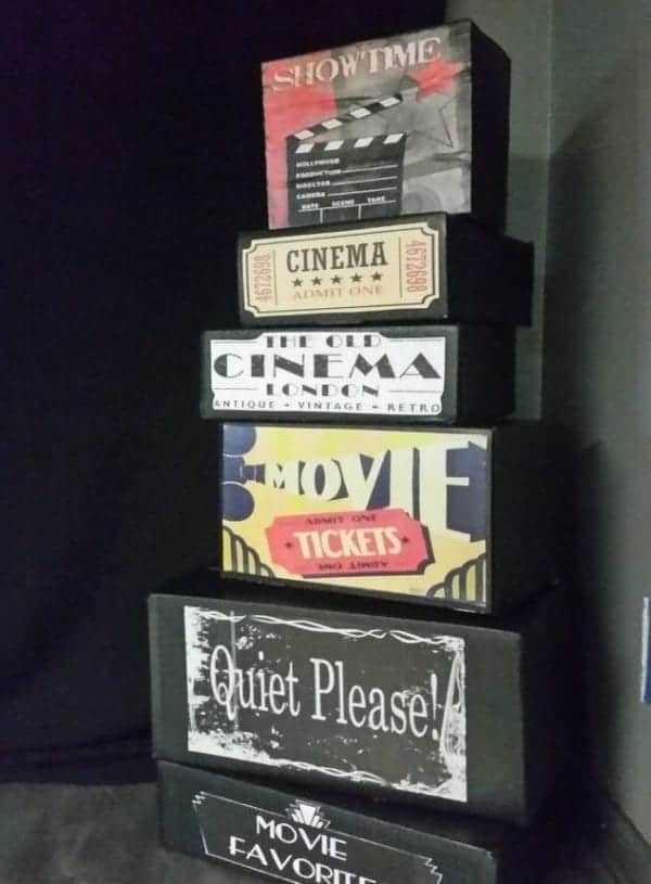 Easy, Fun Movie Theater Room Decor