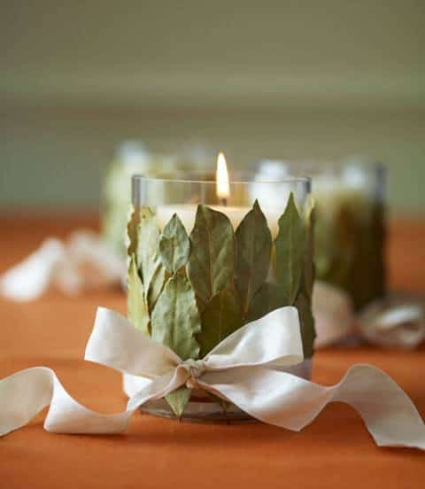 Bay Leaf Votives